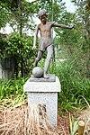 Monument statue of Okuyamada Elementary school's site in Okuyamada, Ujitawara, Kyoto August 11, 2018 02.jpg