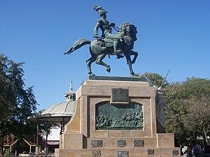 Monumento a Belgrano en Santiago del Estero