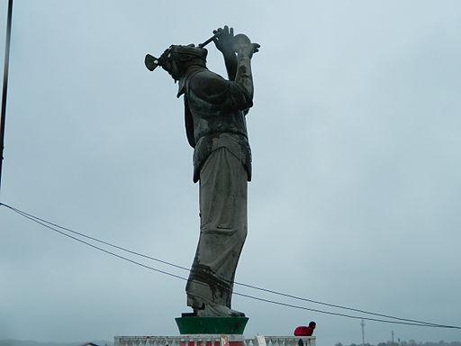 Monumento al volador de la Gran Papantla