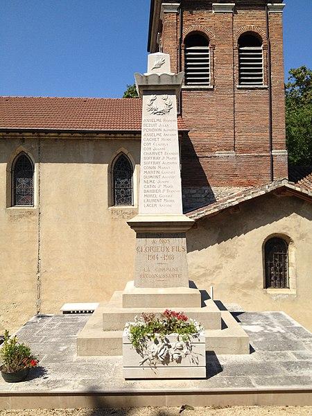 Monuments aux morts de Saint-Jean-de-Niost.