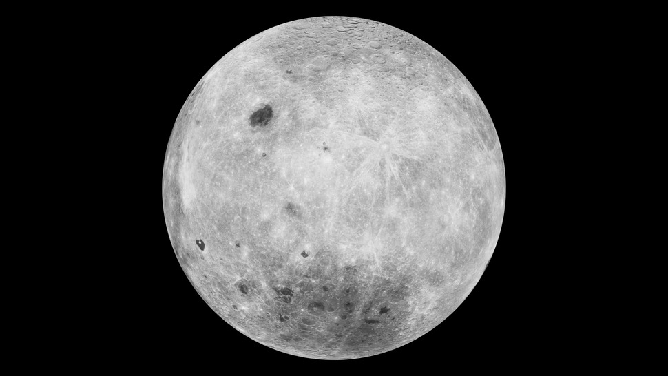 Moon back-view (Clementine dataset)