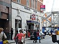 Moorgate station entrance on Moorfields view from north 01.jpg