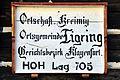 Moosburg Krainig altes Ortsschild 05112010 741.jpg