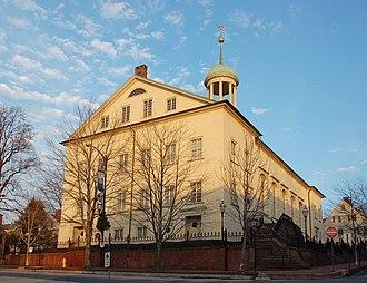 Moravian Church in North America - Old Moravian Church in Bethlehem, PA