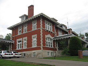 Wellston, Ohio - The Morgan Mansion