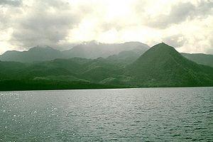 Morne Diablotins - Morne Diablotins - largest volcano on Dominica.