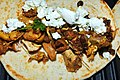 Moroccan Chicken with fresh goat cheese (4477823896).jpg