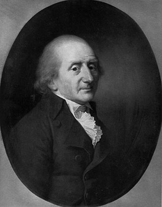 Morten Thrane Brünnich - Morten Thrane Brünnich, painting by Jens Juel, 1799