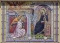 Mosaic at Nuestra Señora Reina de los Angeles Asistencia, founded in early 1784 within the burgeoning Pueblo de Los Angeles. California LCCN2013632332.tif