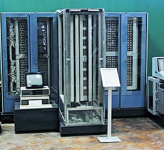 History of computing in the Soviet Union - Elbrus computer in Moscow's Polytechnic Museum