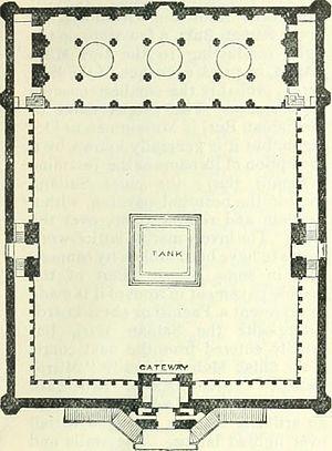 Moti Masjid (Agra Fort) - Plan