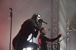 Motionless in White - Motionless in White performing at Rock am Ring, 2015.