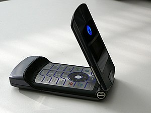 Motorola Razr - The RAZR V3i was sold during the height of the popularity of the Razr series.