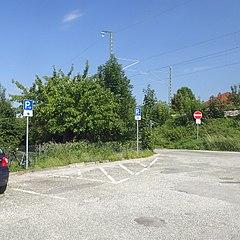 Motorradparkplatz Weinheim in Oberbayern am Parkplatz Ammerschule
