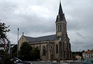 Mouilleron-le-Captif - The church of Saint-Martin of Tours, in Mouilleron