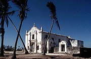 Ilha de Mozambique was first occupied by Portuguese explorers in the late 1400s