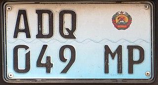 Vehicle registration plates of Mozambique Mozambique vehicle license plates