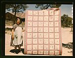 Mrs. Bill Stagg with state quilt 1a34161v.jpg
