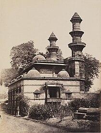 Muhafiz Khan Mosque Ahmedabhad 1855.jpg