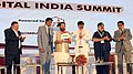 "Mukhtar Abbas Naqvi releasing the publication at the ""Digital India Summit – Role of Cooperative Banks in adopting and advancing the Prime Minister's Flagship Digital India Program"", in Mumbai.jpg"