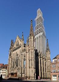 Mulhouse m lhausen milh sa wikimedia commons - Eglise porte ouverte de mulhouse ...