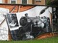 Mural, Kelvingrove Park. 6 - Strathspey Railway - geograph.org.uk - 1516216.jpg