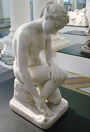Louis Desprez - L'Ingénue ou la jeune fille au limaçon, 1843, by Louis Desprez. Musée de Picardie, Amiens