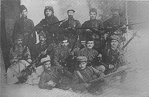 Musa Dagh - Armenian combatants in Musa Dagh