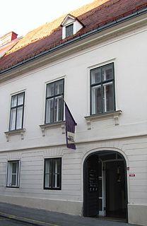 Specialized museum in Zagreb, Croatia