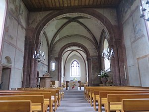 Fortified Church of St. Arbogast - Image: Muttenz ref 3