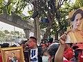 Myanmar coup 2021 protest in Bangkok Thailand 02.jpg