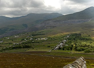 Mynydd Llandygai - Image: Mynydd Llandegai