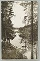 Näkölinja Harjutie–Äijönlahti–Takaharjun ja Silvonniemen välinen kannas–Vaahersalo, Kirkkoniemi, V. A. Sihvonen 1910s–1920s PK0299.jpg