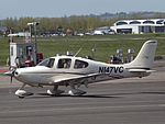 N147VC Cirrus SR22 (26260722944).jpg