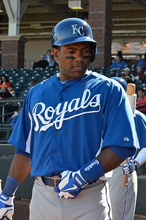 Miguel Tejada - Tejada with the Kansas City Royals