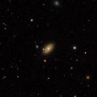 NGC 3008 Lenticular galaxy in the constellation Ursa Major