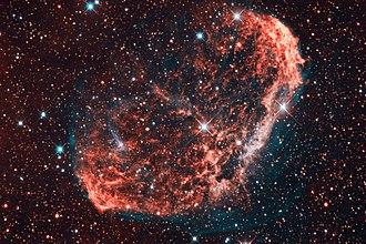 Crescent Nebula - Image: NGC 6888 (Crescent Nebula) bicolor
