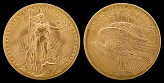Indian Head gold pieces - Saint-Gaudens' double eagle design, which the Mint hoped to modify for the smaller gold coins