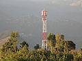 NTC tower in Chaurjahri rukum, and district headquarter in back ground..jpg
