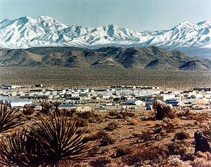 Mercury, Nevada - Image: NTS Mercury