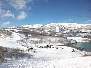 Mount Naeba - Image: Naebayama 2