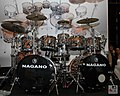 Nagano Drums (力) drum-kit - Expomusic 2014.jpg