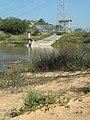 Nahalei Menashe Water Project channel entrance to reservoir 01.jpg