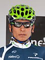 Nairo Quintana - Criterium du Dauphiné 2012 - 1ere étape (cropped).jpg