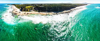 Nambucca Shire - Nambucca Heads aerial panorama