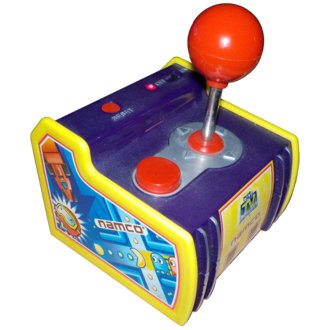 Namco Plug & Play game - Pac-Man, the first Namco TV Games release, includes five Namco arcade games.