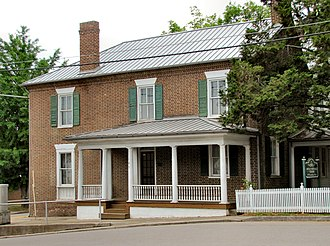 National Register of Historic Places listings in Grainger County, Tennessee - Image: Nance Building Rutledge tn 1