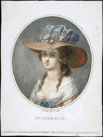 Nancy Storace - Image: Nancy Storace Portrait By Pietro Bettelini original scan