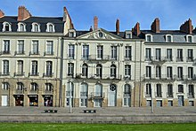 Photo of 18th-buildings in Nantes