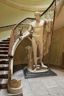 statue by Antonio Canova